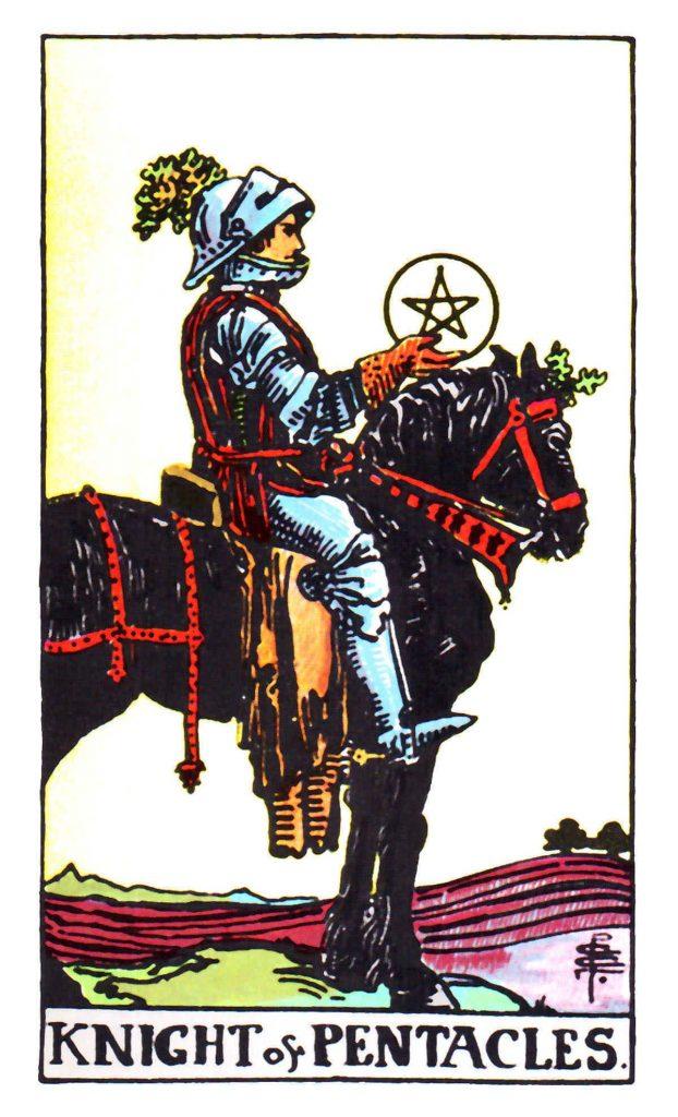 星幣騎士(金幣/錢幣騎士) Knight of Pentacles 塔羅牌牌意